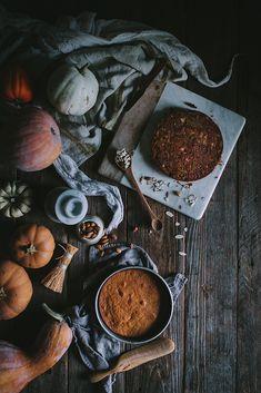 Autumn Oat, Pumpkin, & Almond Cake by Eva Kosmas Flores | Adventures in Cooking