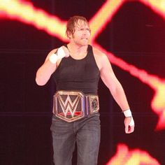 WWE World Champion Dean Ambrose is ready for a fight.
