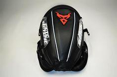 Waterproof Oxford Saddle Black Motorbike Bag with Bigger Window Universal Strong Magnetic Bag for Honda Yamaha Suzuki Kawasaki HANEU Motorcycle Tank Bag