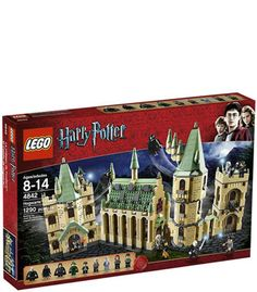 LEGO Harry Potter Hogwart's Castle - I may be an adult, but I want this so bad.