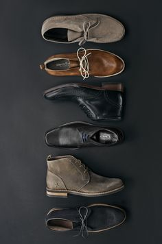 Add comfort, quality, and style to your shoe collection this fall. Shop classic Chukka boots in a variety of colors and styles.