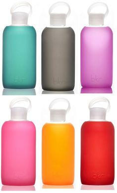 The well-designed BKR Bottle with interchangeable silicon sleeves