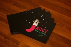 Special Xmas Cards of Jazzy Christmas/Peaceful