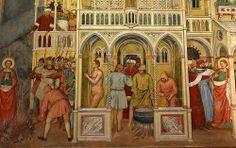 Martyrdom of Saint Lucy, Altichiero da Zevio Oratorio di San Giorgio Padova    ALTICHIERO DA ZEVIO (Zevio, 1330 circa – Verona, 1390 circa)