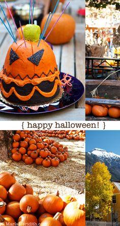 Happy Halloween from Telluride, CO. & Orange County, CA. on FamilyFreshCooking.com © MarlaMeridith.com