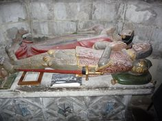 Tomb of Sir Alexander Culpeper and his Lady:  St. Mary's Church: Goudhurst