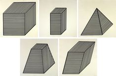 Five Forms Derived from a Cube (5 works) by Sol LeWitt on artnet Auctions
