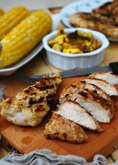 This recipe for The Best Lemon Grilled Chicken is perfect for adding a flavorful twist to your dinner table. Try incorporating this juicy dish into a salad or weekend spread! Allergy Free Recipes, Gf Recipes, Turkey Recipes, Dinner Recipes, Healthy Recipes, Budget Recipes, Pizza Recipes, Lunch Recipes, Recipies