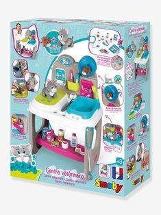 Centre Vétérinaire SMOBY gris - 😍 Découvrir ici - #smoby #vertbaudet #jouets #jouet #jeux #enfants #cadeaux Toy Chest, Storage Chest, Centre, Decor, Gray, Small Animals, Game Props, Slipcovers, Decoration