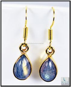 Gold Plating, Labradorite, Fashion Earrings, Pendant Necklace, Gemstones, Jewelry, Month Gemstones, Jewlery, Bijoux