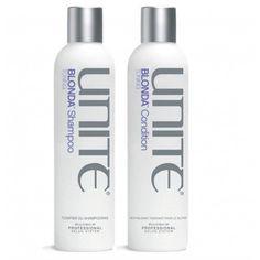 Unite Blonda Shampoo 8oz and Conditioner 8oz Duo set -- Click image to review more details.