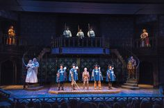 A scene from the Utah Shakespeare Festival's 2016 production of The Three Musketeers. (Photo by Karl Hugh. Copyright Utah Shakespeare Festival 2016.) @utahshakespeare #3musketeers