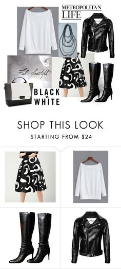 """""""Fashion 101: Minimalist Neutrals Wear"""" by josehline on Polyvore featuring Fumiko, Bally and White House Black Market"""