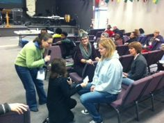 School of Ministry Training Eglise Le Chemin Gatinineau, Quebec - October 2014