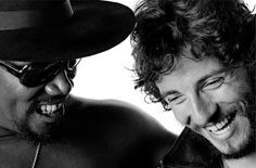 Bruce Springsteen & The big man, Clarence Clemons