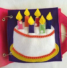 Compleanno torta personalizzata tranquilla libro pagina una