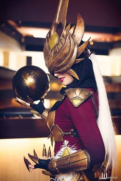 Syndracosplay(fromLeague of Legends) by Meagan Marie. Photo byJwaiDesign Photography