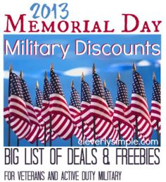 memorial day discounts miami