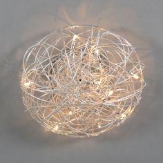 Ceiling Lamp Draht 40cm Aluminium