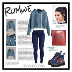"""""""Romwe #getthelook"""" by marianaloalv on Polyvore featuring moda y Gucci"""
