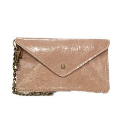 Cell phone wallet - taupe