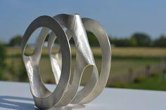 'Second Skin' armband zilver gesmeed