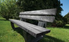 Fully moulded black bench made from recycled materials making it tough, weatherproof and environmentally friendly. It is ideal for anywhere requiring seating both urban and rural. Outdoor Games, Outdoor Seating, Outdoor Decor, Plastic Picnic Tables, Outside Benches, Black Bench, Outdoor School, Bench Seat, Eco Friendly