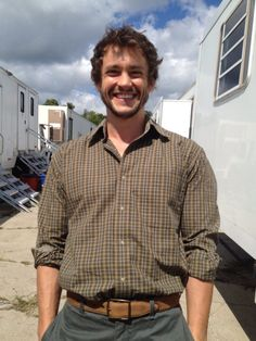 #TBT HUGH DANCY ON DAY 1 OF #HANNIBAL PRODUCTION