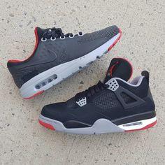 free shipping 959dd 4c2c3 Bred Air Jordan 4 x Nike Air Max Zero iD (1) Air Jordan 4