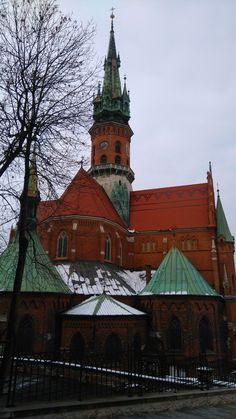 St. Joseph's church in Podgorze district, Krakow, Poland