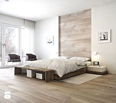 7 Proud Hacks: Minimalist Interior Home Natural Light industrial minimalist bedroom interior design.Minimalist Home Office Desk Inspiration modern minimalist living room colour schemes. Modern Bedroom Design, Master Bedroom Design, Home Bedroom, Home Interior Design, Bedroom Furniture, Bedroom Decor, Modern Bedrooms, Bedroom Designs, Bedroom Ideas