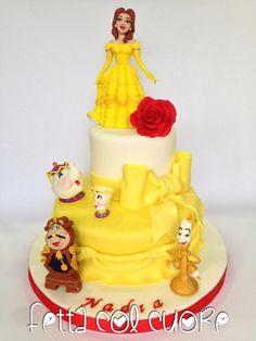 Belle cake - Cake by Fetta col cuore