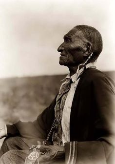 A Cheyenne Elder, who was A tribal Peyote Leader, technically a Holy man and Healer (singer), with what was referred to as a 'hatchet face,' profile. But what the people who insult didn't take into account was, the wisdom and experience this man had. They were not smart enough to see that! Edward S. Curtis, photographer probably did. This profile is termed a Hatchet face profils, because of the sharp angle in the face, as if carved out.