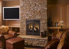 Natural Stone Fireplace Surround eldorado stone - imagine - inspiration gallery - residential