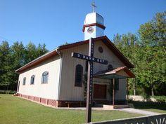 Igreja ucraniana da Cachoeira, em Prudentópolis