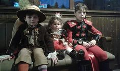 Alice in Wonderland ... Mad hatter, Queen of hearts and Jack of hearts