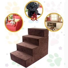 Isport Portable Pet Stairs Pet Steps Pet Ramp Pet Ladder for Small Pet Dogs Cats to get on High Bed >>> See this excellent product. (This is an affiliate link ). Cat Stairs, Pet Ramp, High Beds, Pet Steps, Pet Dogs, Pets, Bed Furniture, Dog Bed, Ladder