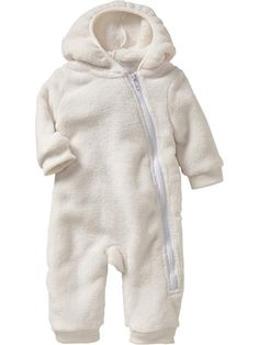 Old Navy | Plush Hooded One-Pieces for Baby