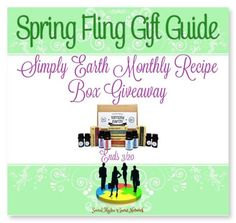 Join | Simply Earth Monthly Recipe Box Giveaway! This giveaway ends on 11:59 PM (EST) 3/20/17.  @las930 @SMGurusNetwork http://www.istintotz.com/2017/02/join-simply-earth-monthly-recipe-box.html