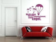 Wandtattoo Engel  #Wandtattoo #wandbild #fallschirmjäger #fallschirmspringer #paratrooper / mehr Infos auf: www.Guntia-Militaria-Shop.de