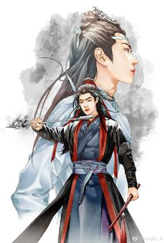Looking for Chinese web novels like Mo Dao Zu Shi/Grandmaster of Demonic Cultivation? Find out more on Flying Lines ❤❤❤ Handsome Anime, Photo, Fantasy Art, Demon, Art, Fan Art, Chinese Art, Manga, Beautiful Art