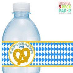 Oktoberfest-Flasche Etiketten von BushelandPeckPaper auf Etsy https://www.etsy.com/de/listing/164345916/oktoberfest-flasche-etiketten