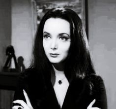 we've always had a soft spot for Morticia