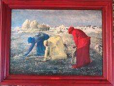 Redonner vie en couleur à de vieux tableaux abandonnés!! Lancelot, Classic Chic, Painted Canvas, Color