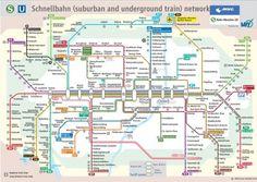 Metro de Munique Mapa