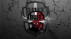 #Taureau #flare #photoshop #logo #logoteam #team #blason #métal #gaming