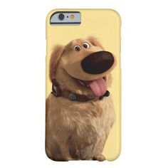 Dug the Dog from Disney Pixar UP - smiling iPhone 6 Case at Zazzle, http://www.zazzle.com/dug_the_dog_from_disney_pixar_up_smiling_case-256061695791561941?rf=238090244331062886