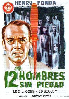 Doce hombres sin piedad [Vídeo] = 12 Angry Men / dirigida por Sidney Lumet ; guión de Reginald Rose ; producida por Henry Fonda y Reginald Rose.-  [S.l.] : MGM Home Entertain., 2006
