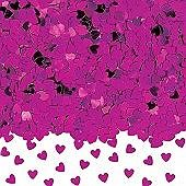 Hot Pink Hearts Confetti - PartyWorld Costume Shop Hot Pink Heart Confetti. This Hot Pink Heart confetti can be a great low cost and effective addition to your choice of wedding table decoration. You can use it on its own or combine it with some petals or crystals to add a little colour and sparkle to your wedding tables. Confetti is the perfect little extra to make your party decorations unique. At Mypartyworld we have dozens of different designs of metallic foil shapes confetti that looks…