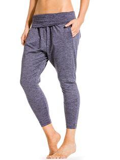 Rolldown Slouchy Drop Crotch Pant